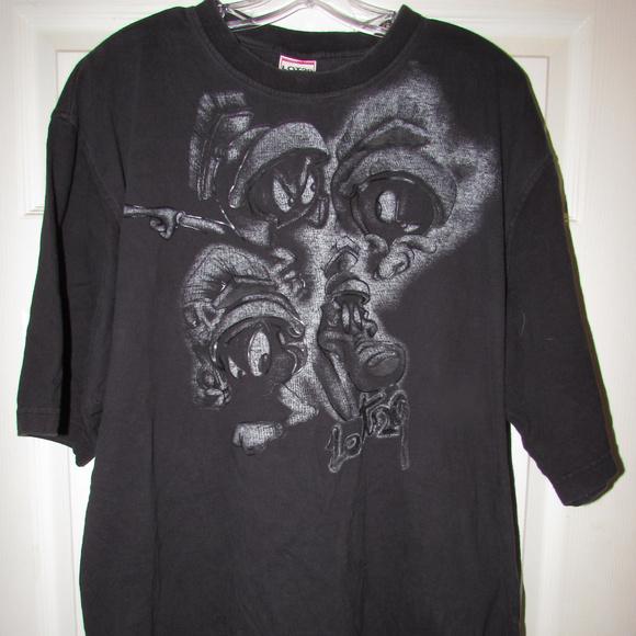 7120deb24 Lot 29 Shirts | Looney Tunes Black Xxl Shirt Marvin Martian | Poshmark